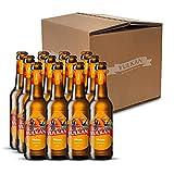 VULKAN Brauerei Weizen Vorteilspaket |VULKAN Bier Weizen | 12 x 0,33l (2,50€/l)