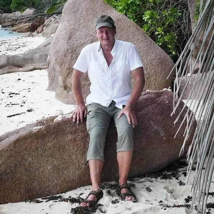 Reiseleiter Andreas Fiedler