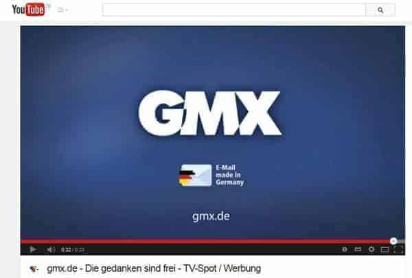 gmx mail nie wieder
