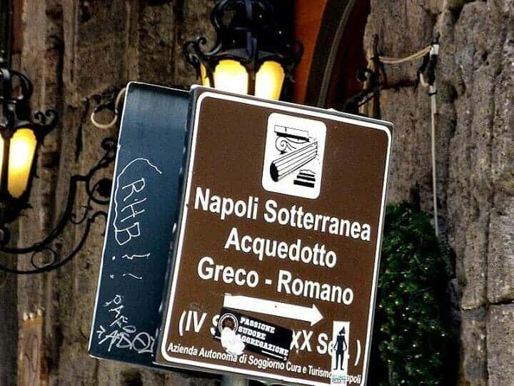 Neapel Untergrund Napoli Sotterranea Bild 5