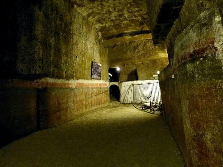 Neapel Untergrund Napoli Sotterranea Bild 7