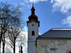 Gegenlicht Kirche Petrovice