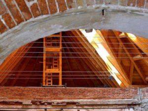 Innenraum Kirche Petrovice