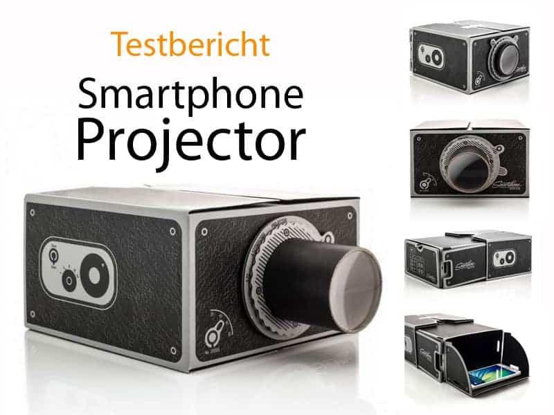 Testbericht Smartphone Projector