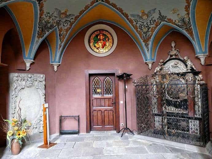 Schönes altes Gewölbe in der Wenzelskirche Naumburg