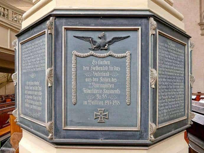 Grabmal Wenzelskirche Naumburg