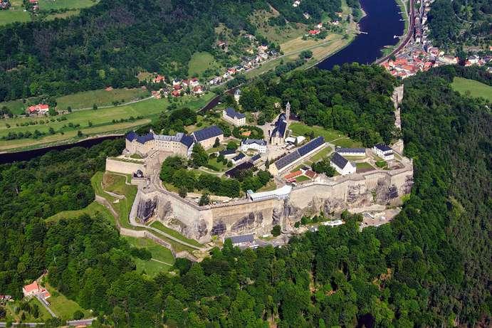 Festung Königstein Bild: Fritz-Gerald Schröder CC0