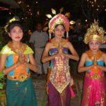 Junge Mädchen aus Bali