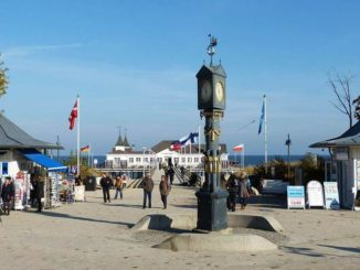 Längste Strandpromenade Europas in Ahlbeck
