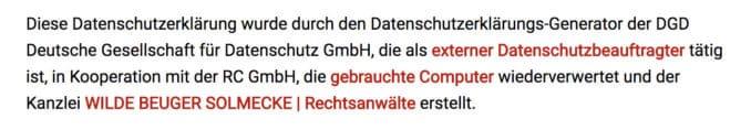 Screenshot-Datenschutz-Generator