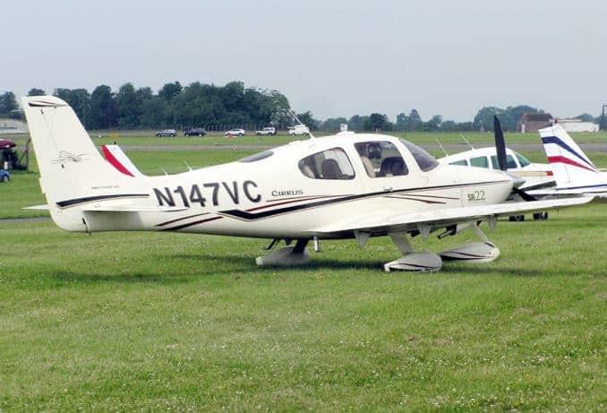 Cirrus Leichtflugzeug