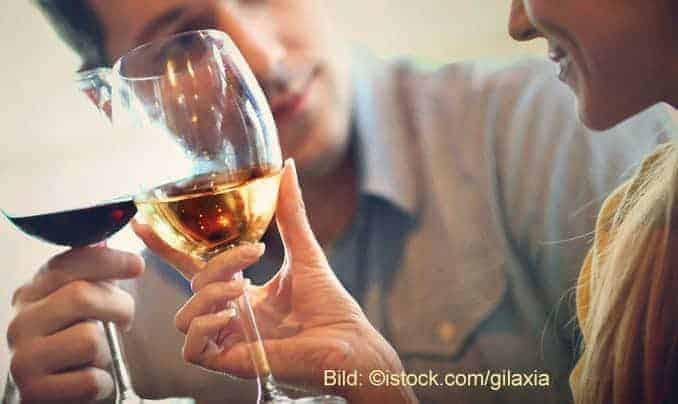 Alkohol verkürzt die Lebenserwartung