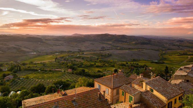 Die sagenhafte Landschaft der italienischen Toskana verspricht einzigartige Ausblicke