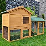 Kaninchen-Käfig / Kleintier-Stall für Außenbereich