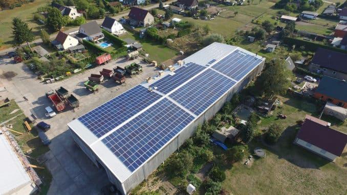 Photovoltaikanlage in der Landwirtschaft