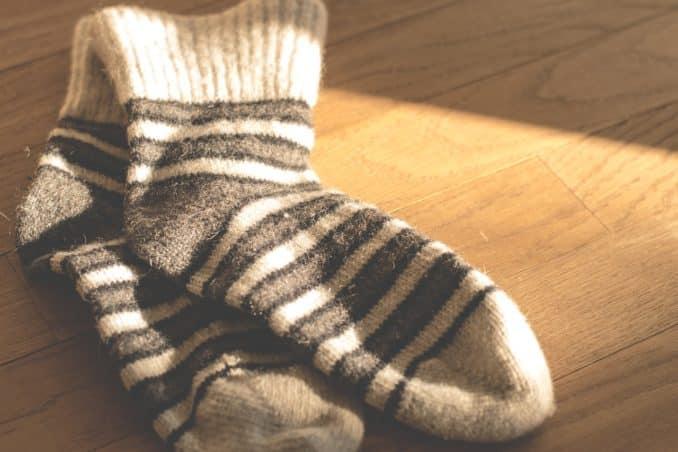 Socken zu Weihnachten?