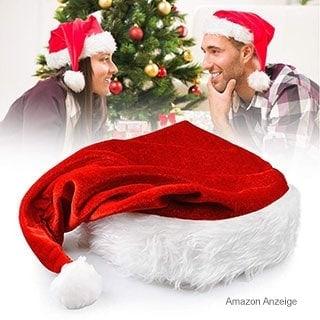 Weihnachtsmann / Santa Claus Mütze