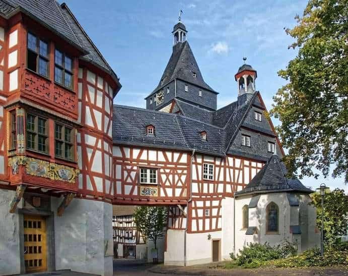 Altes Fachwerkhaus in Hessen