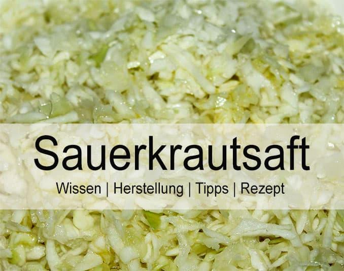 Sauerkrautsaft Wirkung