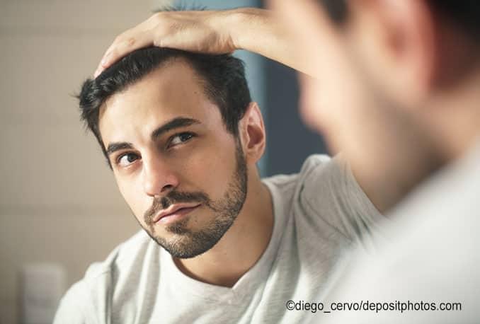 Männer Haare