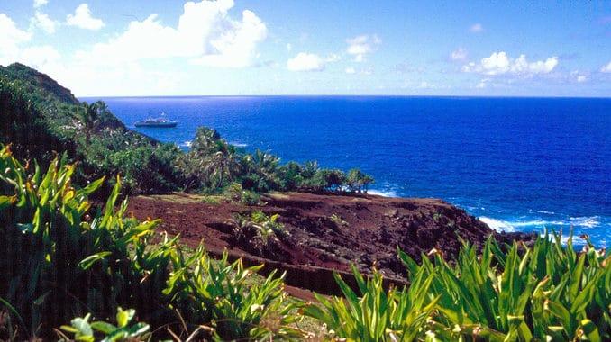 Insel Pitcairn - Liegeplatz der Bounty