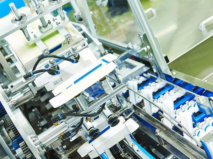 Abfüll- und Verpackungsanlage Pharma aus Dänemark