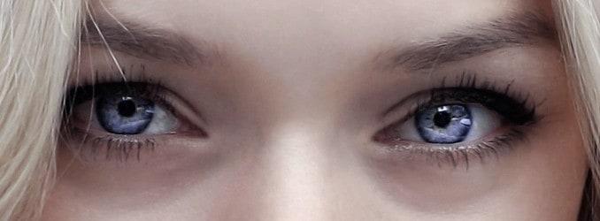 Augen Kontaktlinse