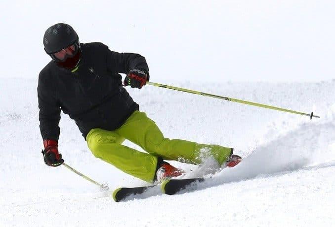 Carving Ski fahren