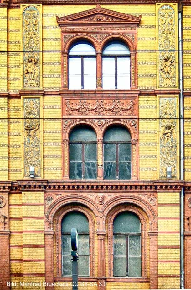 Postfuhramt Berlin Fassade