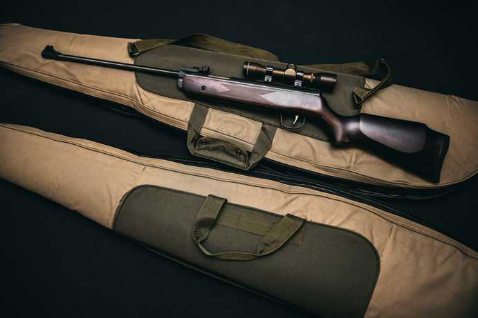 Feuerwaffe für die Jagd
