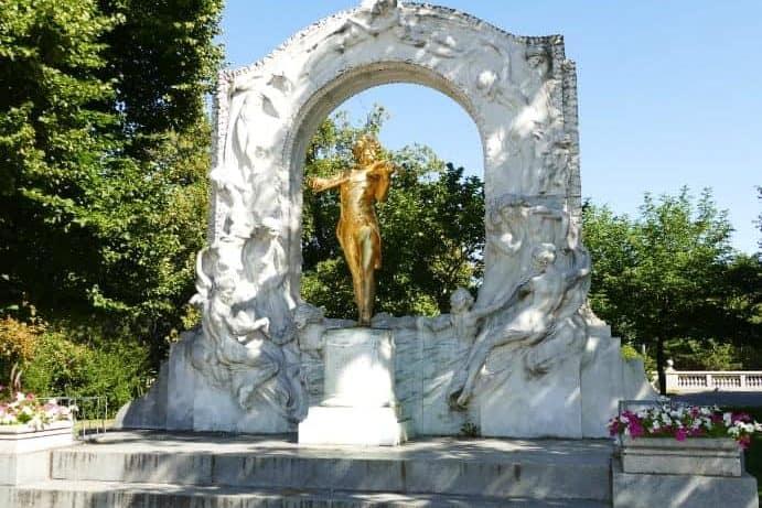 Mozart Stadtpark Wien Denkmal