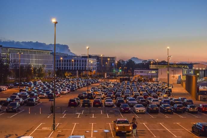 Parking am Flughafen
