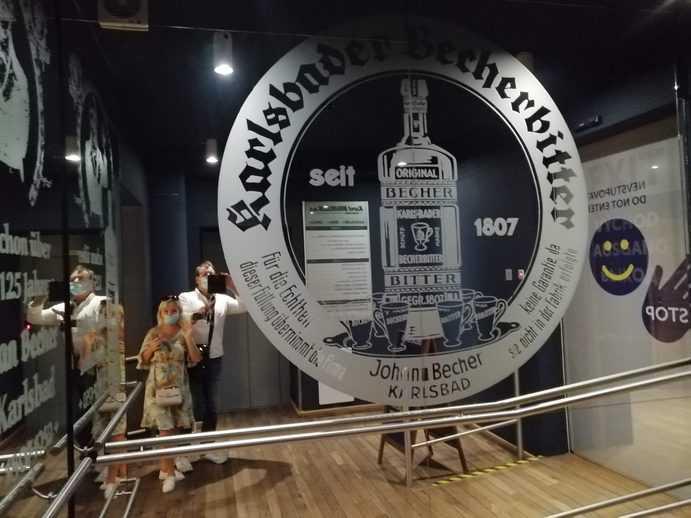 Becherovka Museum Karlsbad