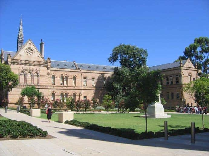 Universität Adelaide (SÜD Australien) Bild: Bram Souffreau CC BY-SA 2.0
