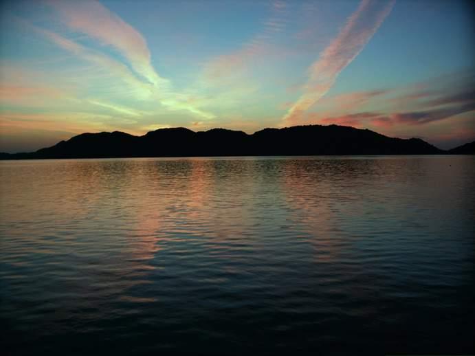 Sonnenaufgang Türkische Ägäis