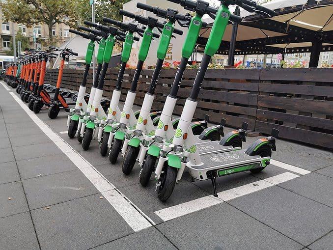 E-Scooter von Lime