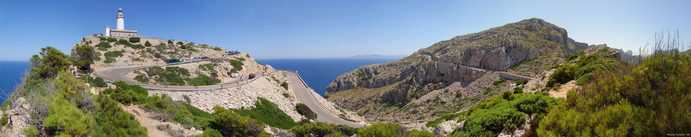Panorama über das Cap de Formentor Bild: Nize CC BY-SA 3.0