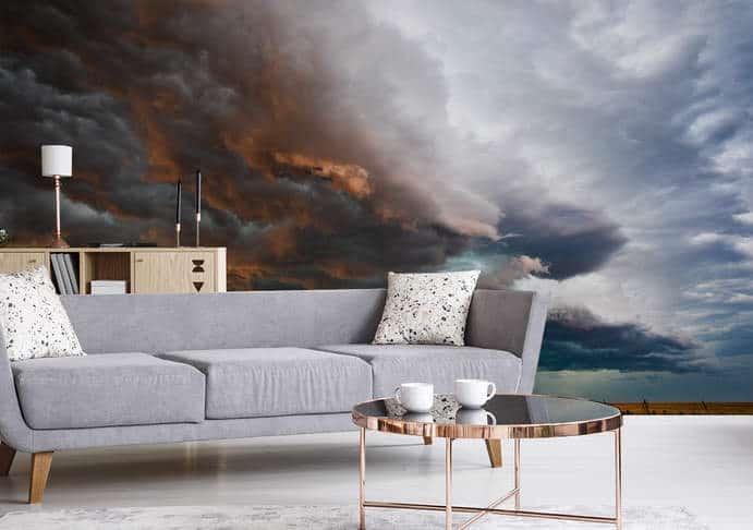 Fototapete – Wolke während des Sturms