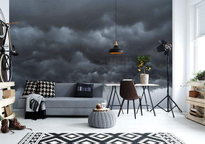 Fototapete mit Wolkenmotiv