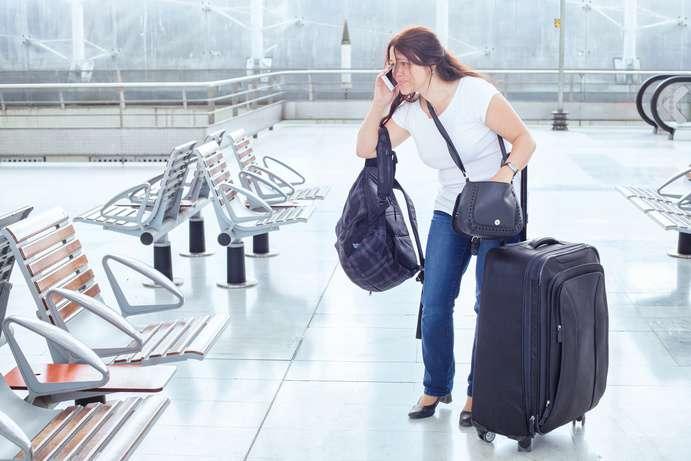 Koffer Transport kann stressig sein ©anyaberkut/depositphotos.com