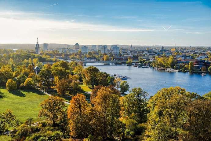 Stadtlandschaft von Potsdam Bild: Kai Vogel CC0