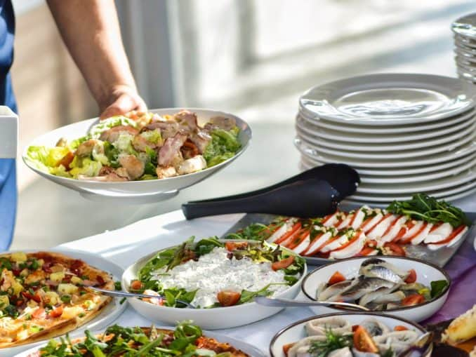 Salat zum Brunch