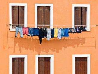Wäsche auf Reise waschen ©pitrs10/depositphotos.com