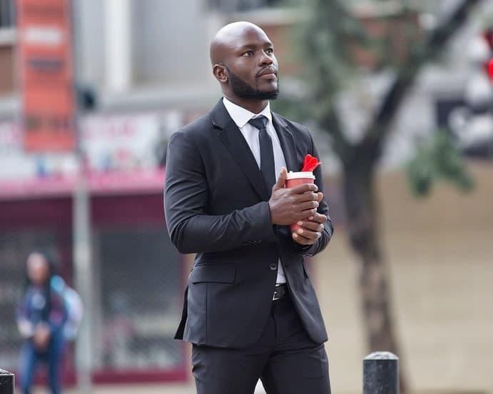 Anzug Mann Business Alltag